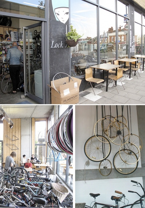 London Bicycle Cafe Ontario