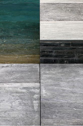 Materials palette - Peter Zumthor via Brown and Brown architects