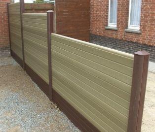 Composit Ranch Fence No Maintenance And Clean Composite