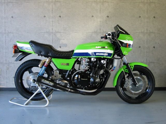 Kawasaki Z1000R1 Eddie Lawson Replica