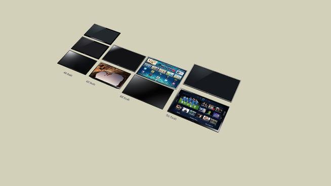 TVs 42 inch - 60 inch - 3D Warehouse