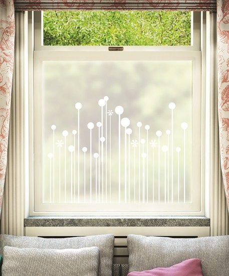 Vaxter - White Printed Designs - Window Film