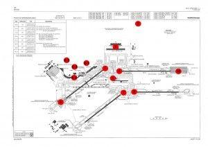 imagenes aeropuerto plano de barajas españa