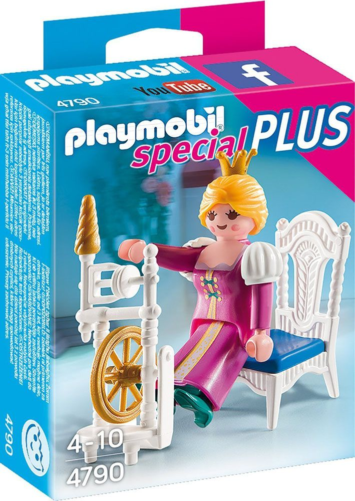 PLAYMOBIL 4790 ΩΡΑΙΑ ΚΟΙΜΩΜΕΝΗ ΜΕ ΑΝΕΜΗ - PLAYMOBIL | Plus4u