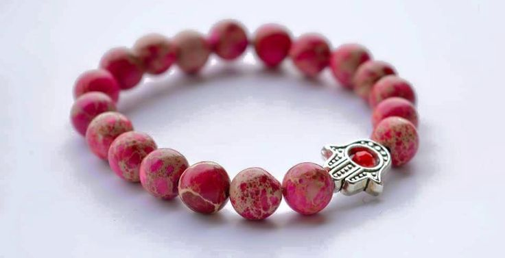 Hamsa Red Bracelet by EllaBalerina on Etsy