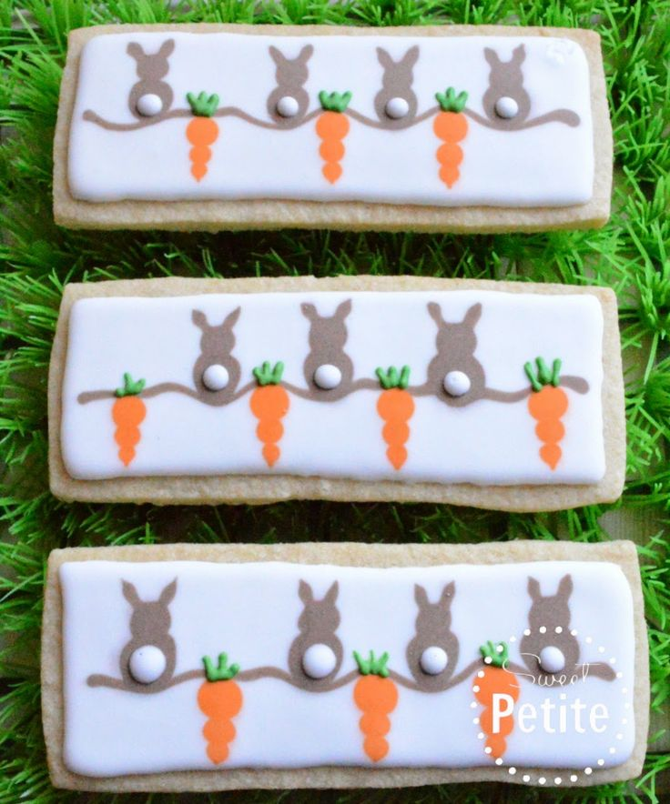 Cute Bunny Cookies