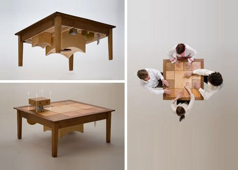 furniture making ideas. musical furniture watch the video httpdornobcomacousticdecormodularinteractivemusicmakingfurniture for home pinterest wooden tables making ideas u