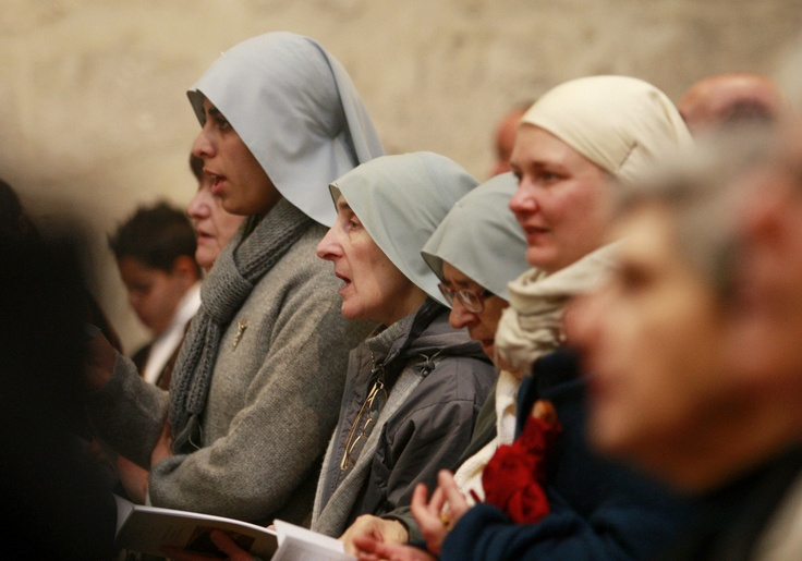 Christmas in Bethlehem  Nuns and worshipers pray during mass in at the Church of the Nativity, traditionally believed by Christians to be the birthplace of Jesus Christ, in the West Bank town of Bethlehem, Tuesday, Dec. 25, 2012.