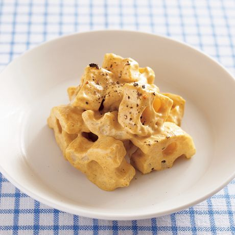 れんこんのカレーマヨあえ | Mako(多賀正子)さんの小鉢の料理レシピ | プロの簡単料理レシピはレタスクラブネット