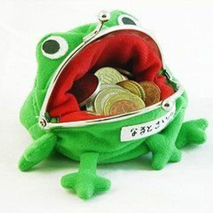 Froggy anime coin purse etsy in 2021 naruto