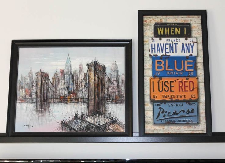Fearless Art for the Home. Take Picasso's advice and loosen up a bit with colour.