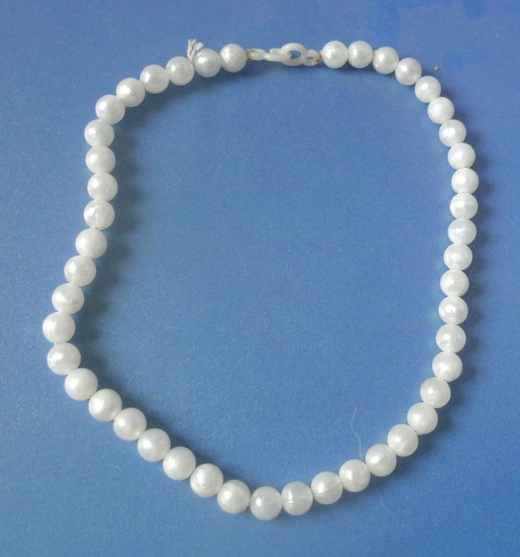 Vintage Retro Jewelry Fashion Bijoux bijouterie BEADS Necklace plastic