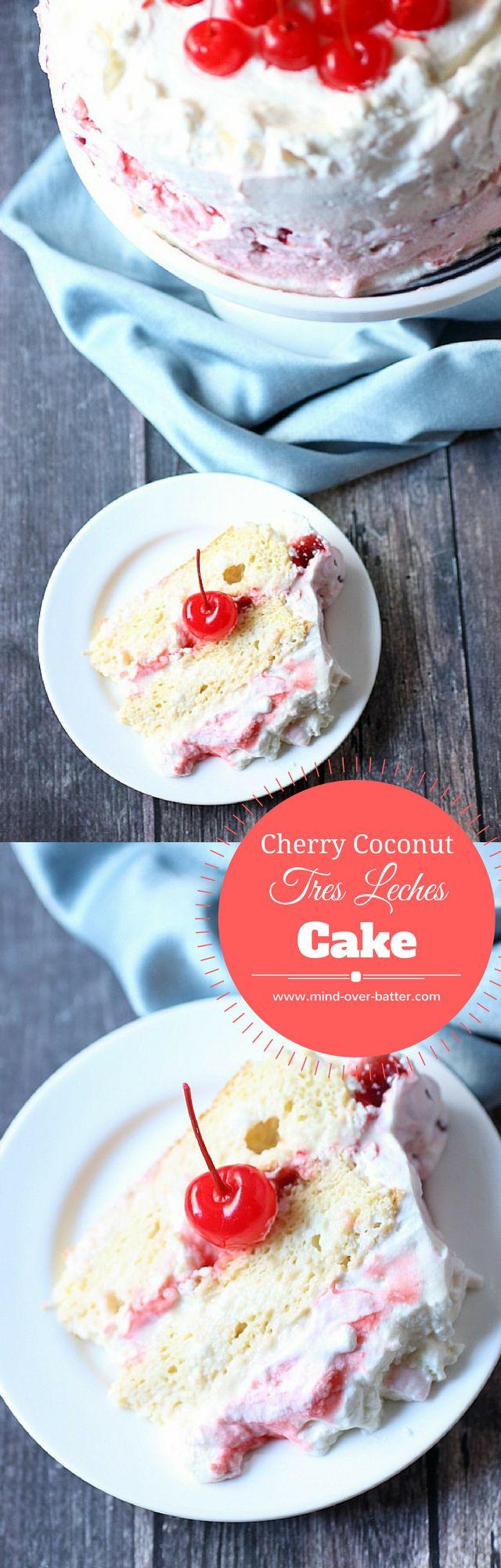 Luscious… Creamy… Sexy. This Cherry Coconut Tres L…