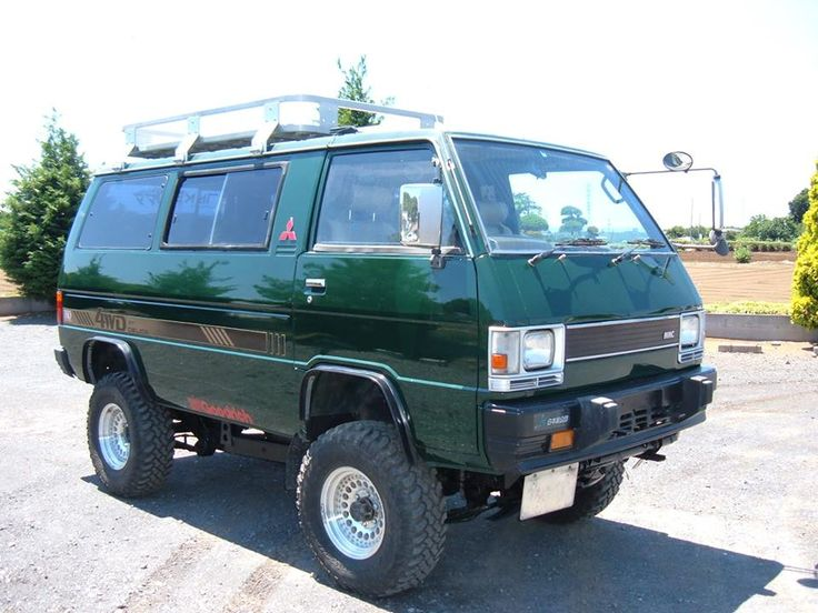 The Mitsubishi Delica is becoming a more common international overlanding platform. Ladder frame, 4WD, diesel reliability, simple mechanicals, and great fuel economy all make sense.