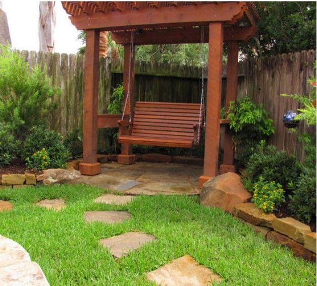 Pergola Arbor Swing Set Design Ideas