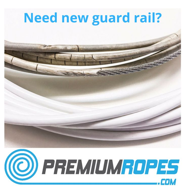 Need new guard rail? Order it online at Premium Ropes. We supply with or without a coated cover. #sailing #steelwire #vela #premiumropes #yacht #rigging #international #worldwideshipping #yelken #segeln #bateau