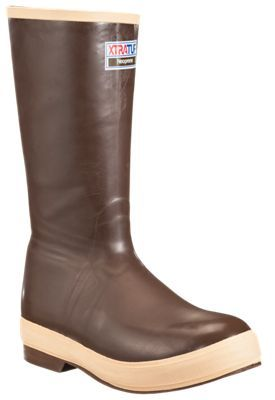 Xtratuf Legacy 15'' Insulated Rubber Boots for Men - Copper Tan - 13 M