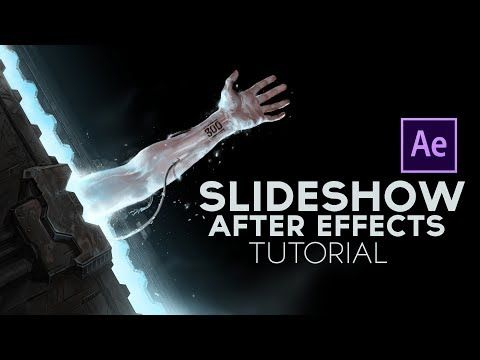 Simple Slideshow After Effects Tutorial - YouTube