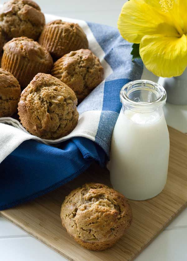 Sunbutter and Banana Muffins (how I made: followed recipe exactly, they turned out amazing - the kids loved them!)