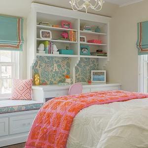 coral-pink-and-aqua-blue - Design, decor, photos, pictures, ideas ...