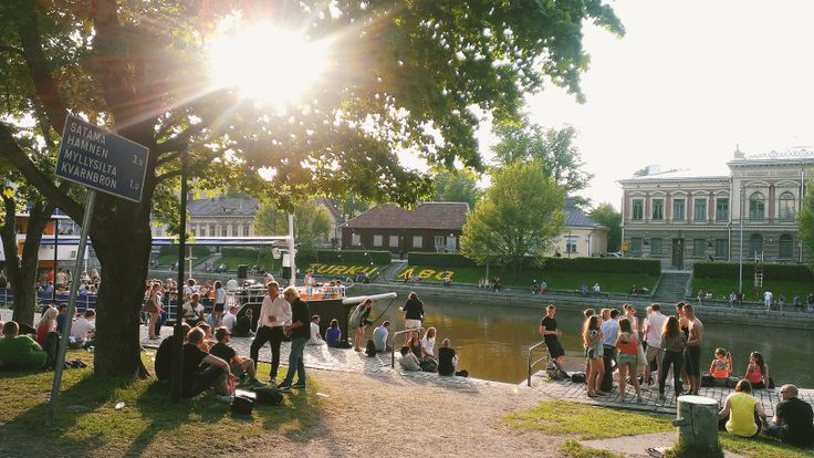 Summer and June in Turku