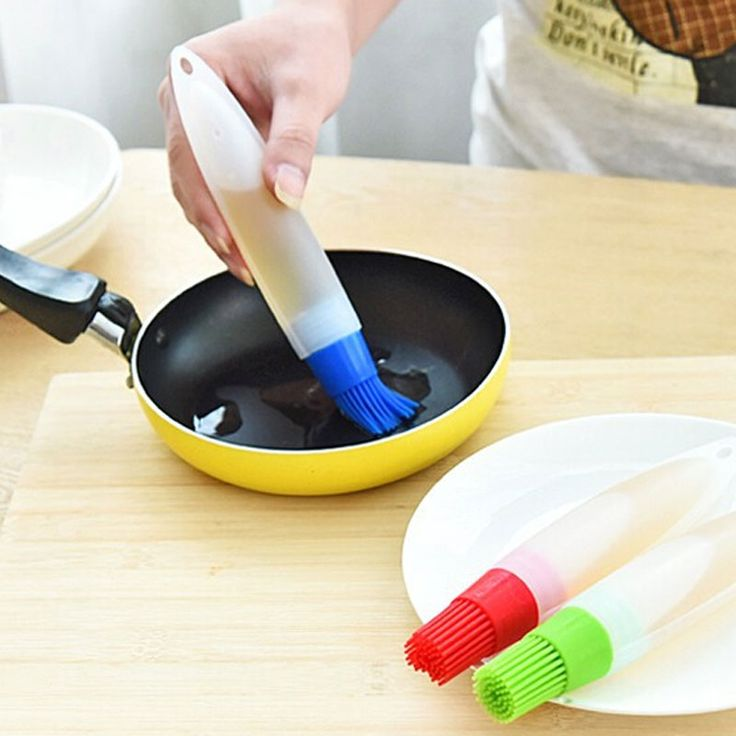 Hot 2 style Silicone Non Stick Baking Brush Extruder Liquid Oil Pen Brush Bread Butter Brush. Click visit to check price #Bakeware