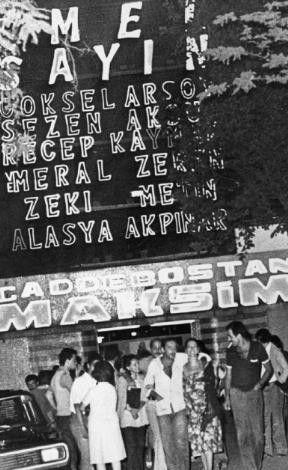 Caddebostan Maksim Gazinosu: 1981, Maksim Gazinosu, Eski Istanbul, Turkey History, Time Istanbul, Istanbul Fotograflari, Caddebostan Maksim