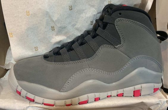 size 40 582ee ef862 Release Date: Air Jordan 10 GS Dark Smoke Grey | Dr Wongs ...