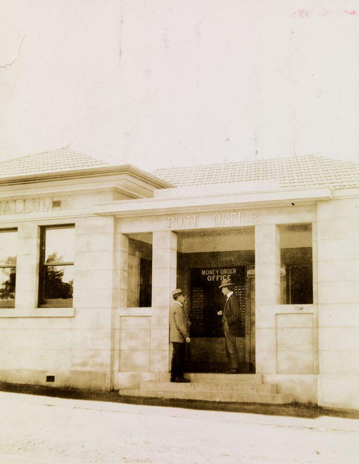 Derrinallum Post Office [Source: SLV]