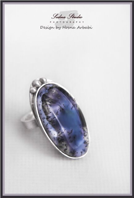 Ring , Silver , Agate