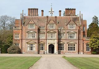Elizabethan Great House-EXCERPT: Heydon Hall in Norfolk, built between 1581 and 1584, is a more traditional style Elizabethan house, but the classical influence can still be seen in the pediments above the windows.