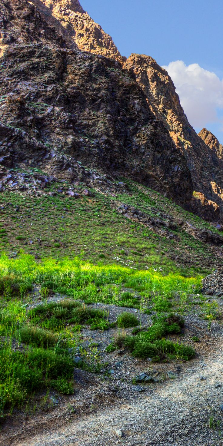 Glacier Gorge 024 - - - - - The valley is located within Gobi Gurvansaikhan National Park. #mongolia