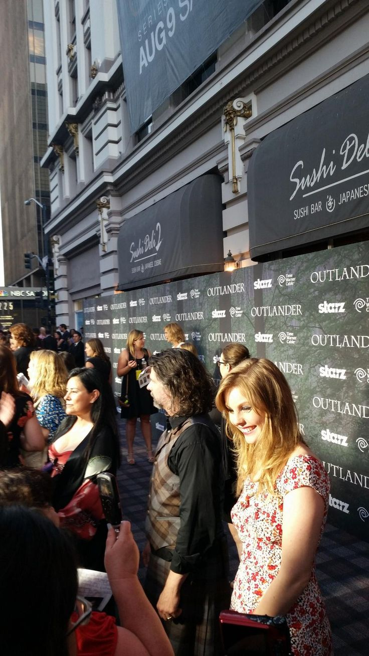 Introducing Nell Hudson, the beautiful Laoghaire #Outlander #SDCC from outlander starz twitter