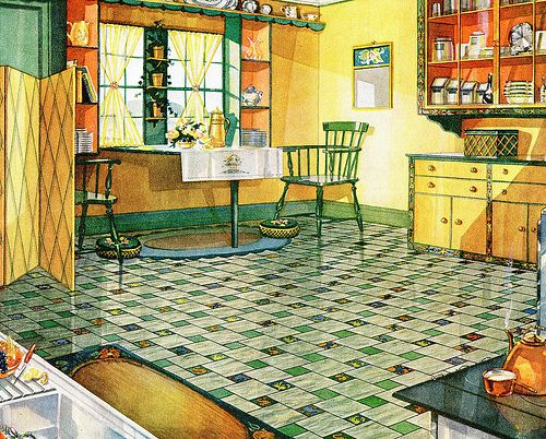 armstrong yellow kitchen | 17 Best images about Yellow Retro Kitchens on Pinterest ...