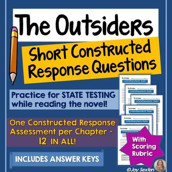 outsiders text response essay The outsiders study guide contains a biography of author s e hinton, literature essays, quiz questions, major themes, characters, and a full summary and analysis.
