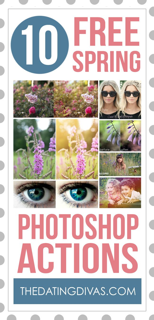 FREE Actions for Photoshop!  These are awesome.