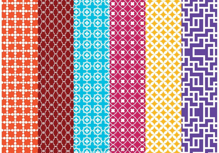 Morocco Vector Pattern Pack