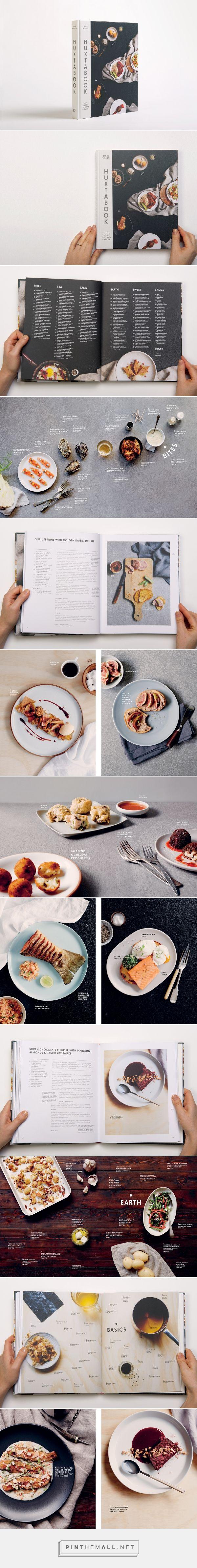 Cookbook editorial design, food phography