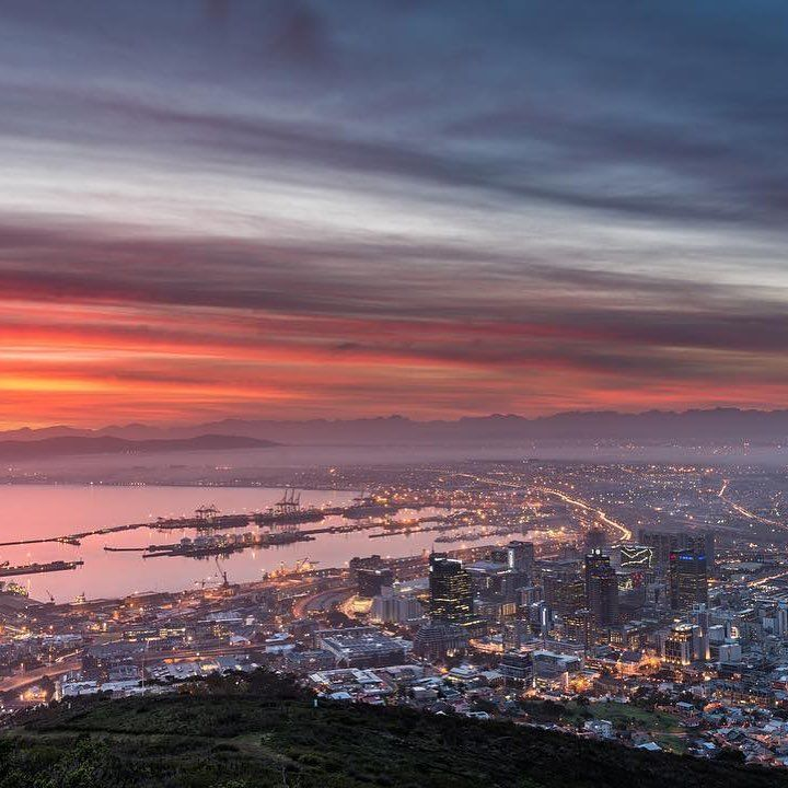 """1,588 Likes, 11 Comments - CapeTownMagazine.com (@capetownmag) on Instagram: """"The view from Signal Hill. Featuring @alexcpt  ____________________________ If you'd like to see…"""""""