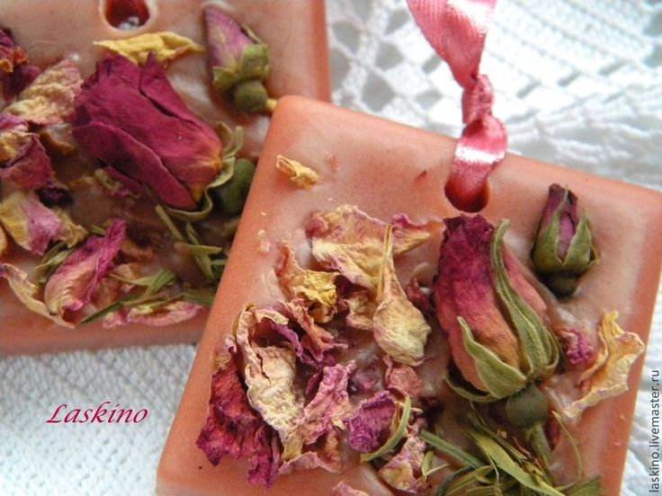 Купить Саше БУТОН РОЗЫ, флорентийское восковое. - коралловый, розовый, роза, бутон розы, саше