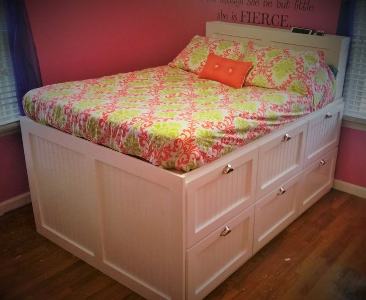 Best Beadboard Storage Bed Do It Yourself Home Projects From 640 x 480