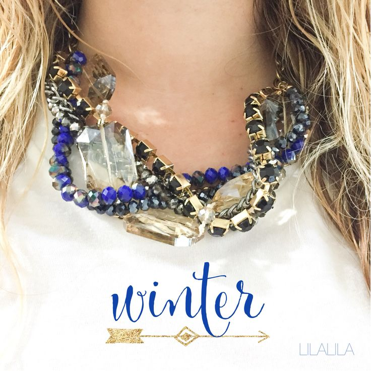 Winter by LILALILA statement jewelry