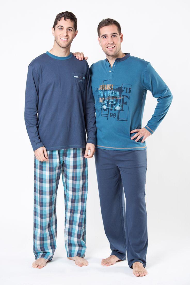 pijama hombre chico caballero men ropa noche moda fashion