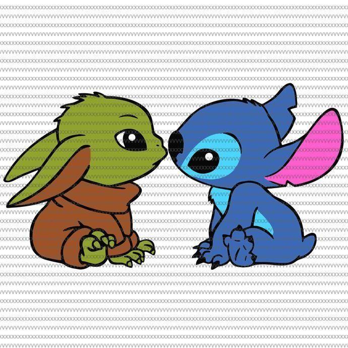 Cute Baby Yoda And Stitch Wallpaper Yoda Png Yoda Drawing Yoda Wallpaper