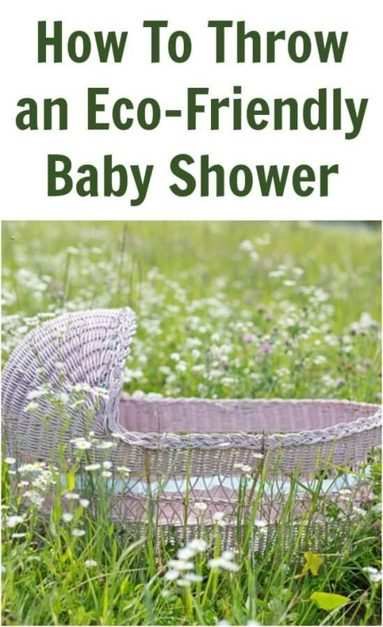 Here are some great ways to throw an awesome eco-friendly baby shower while helping to keep the planet beautiful for their new little angel.