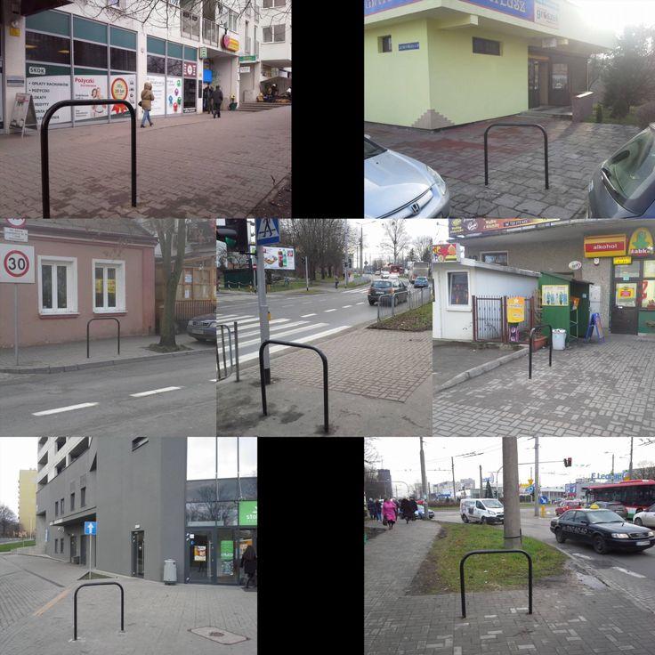 """""""#Stojaki z rezerwy celowej dzielnicy #Rury Dziękujemy #rower #Lublin"""""""