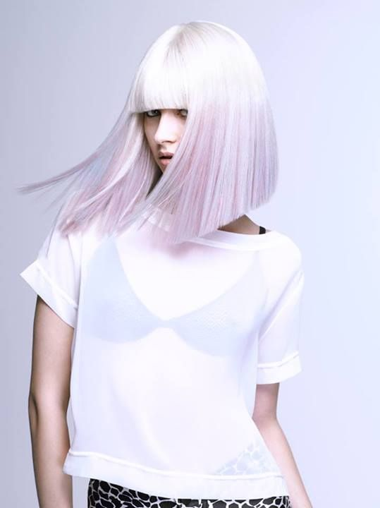 @evo hair 3inspiration #whiteblonde #hair