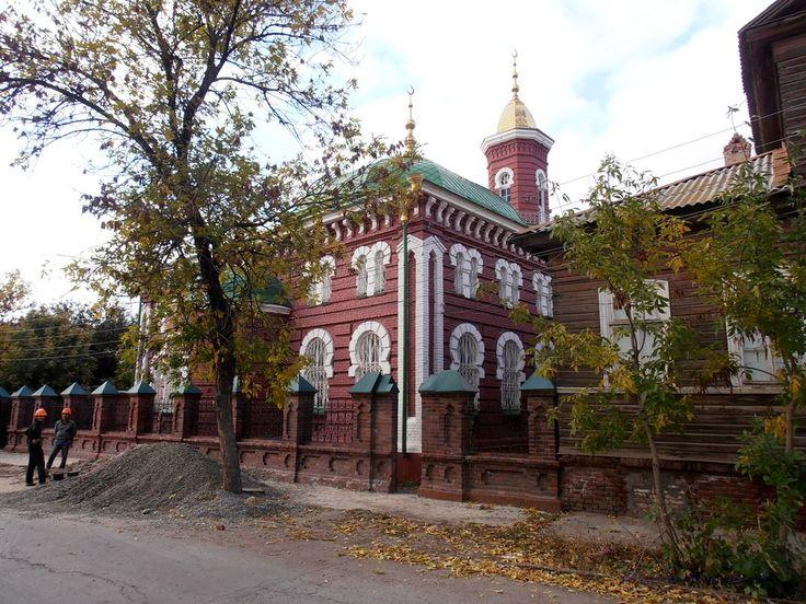 Tatar mosque. Астрахань XIX века татарским муллой Абдрахманом Алиевым