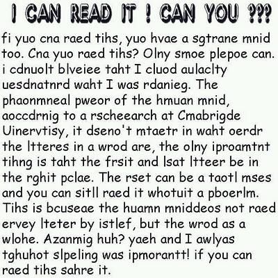 Can you read it? I can