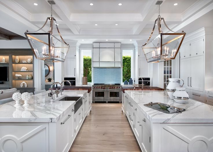 65 kitchens with authentic marble countertops